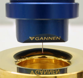 Gannen-XP used in a nanometrology measurement on an artefact.